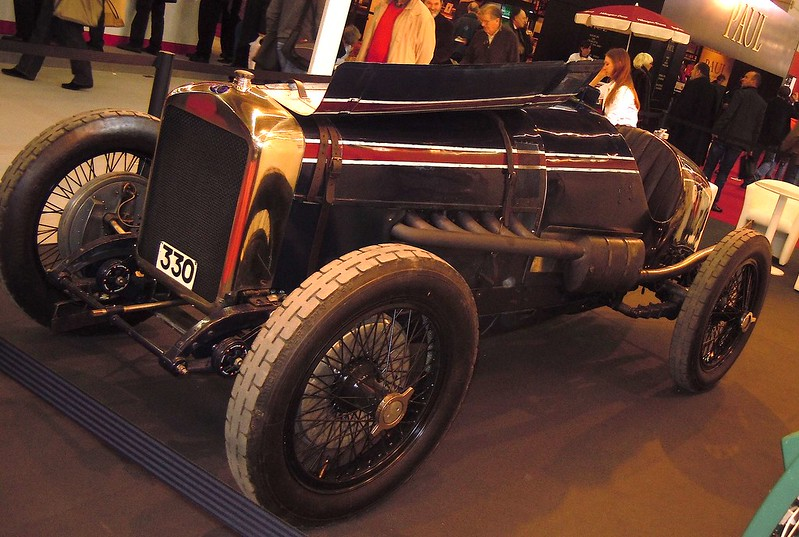 Delage Racer 1923 - Retromobile Paris 2011 32671950112_80d2ce8638_c