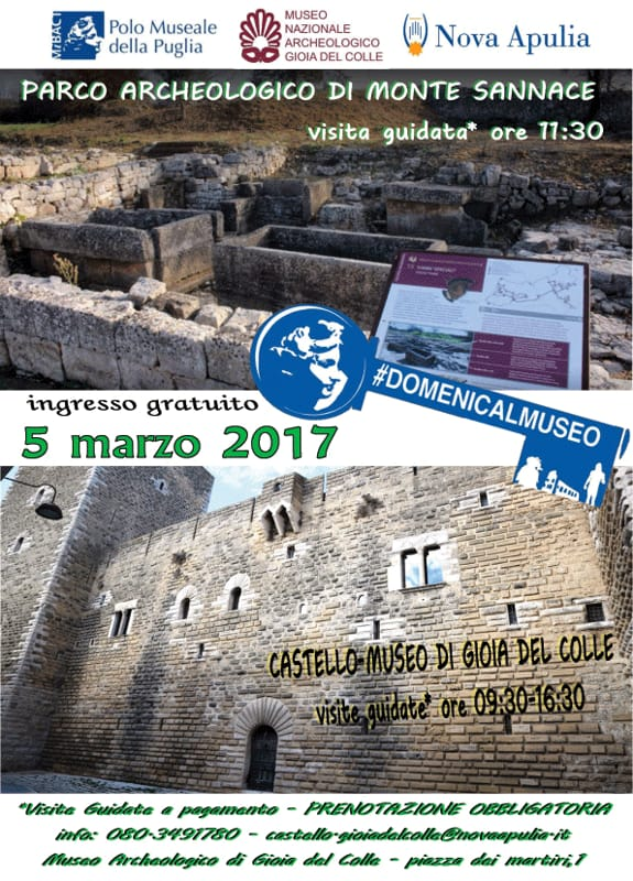 gratis al castello-museo-scavi