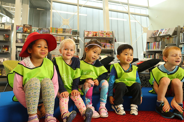 Halswell preschoolers preview the Te Hāpua: Halswell Centre