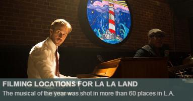 Filming locations of La La Land