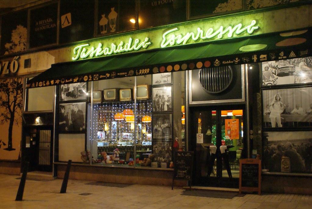 Café Taskaradio Espresso à Budapest
