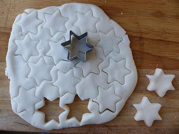 étoiles blanches