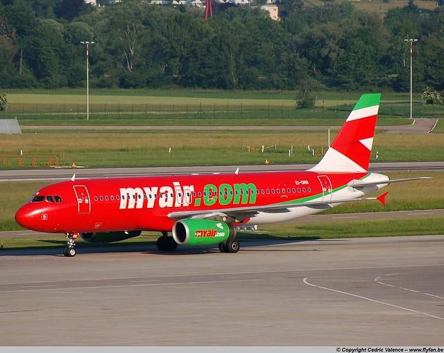 EI-DRG - A320 Myair - ZRH 24-05-07