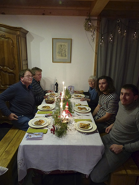 dîner de Noël