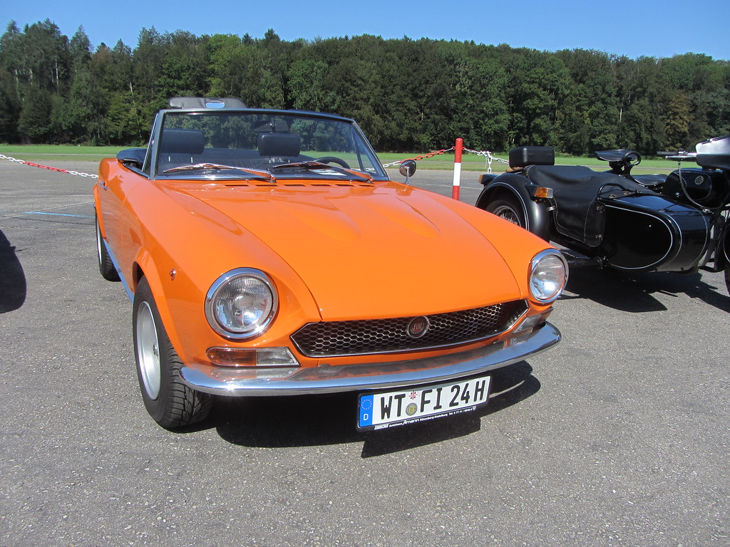 Fiat 124 Sport Spider Bs 1970 73 Oldtimers Bleienbach Flickr Convertible By V8dub
