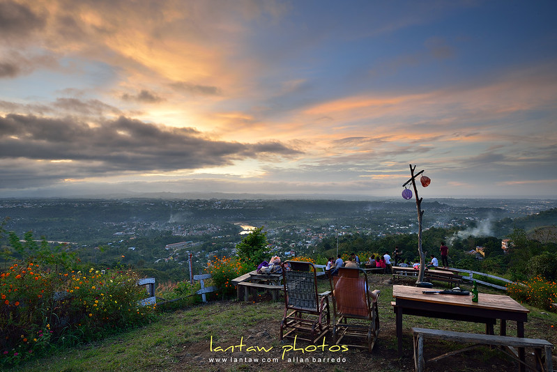 cagayan de oro : overlooking sunset at eden solace