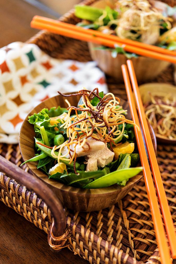 pan fry noodles asian salad #everydayeffortless