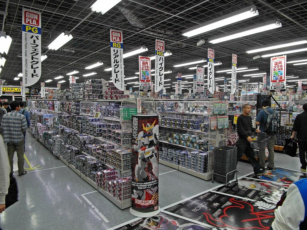 Tokyo Toy Trip Yodobashi Akiba ヨドバシ秋葉原 6th Floor T