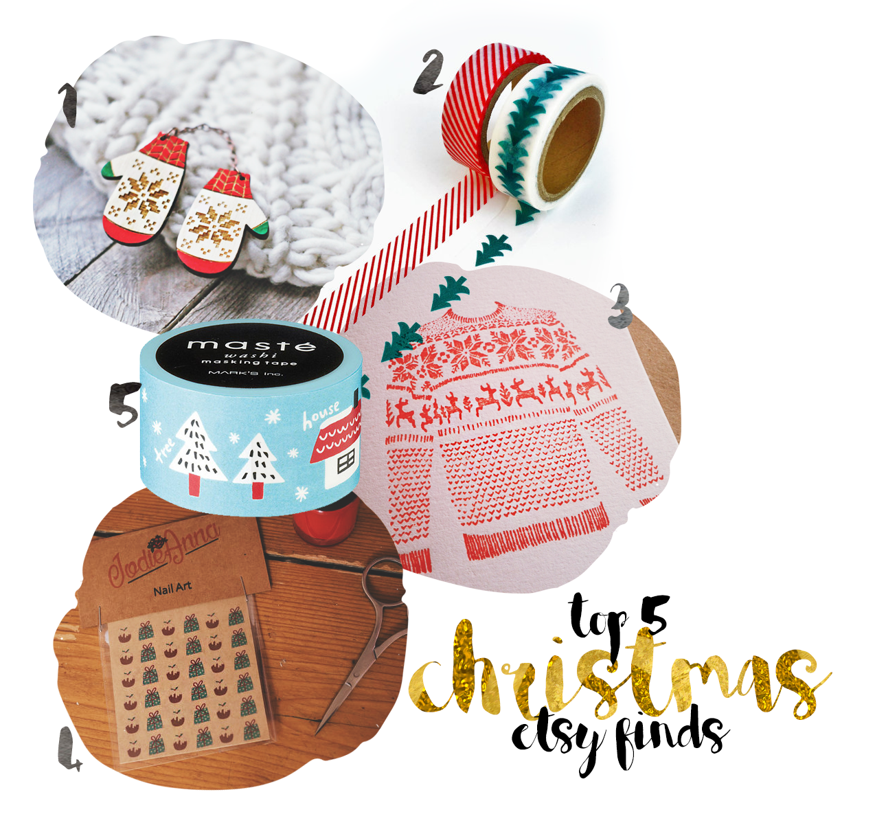 Shop Independent: Christmas Etsy Gifts under £10