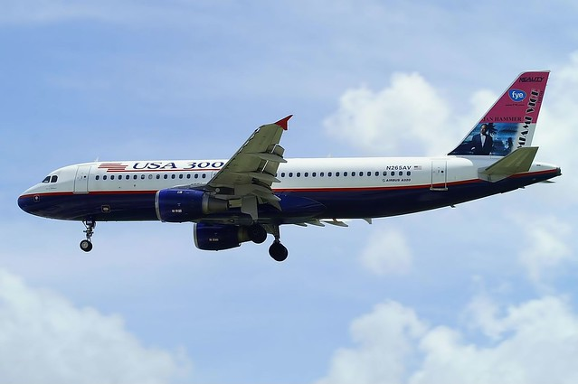 A.320-212 C.n 0427 'N265AV' USA 3000