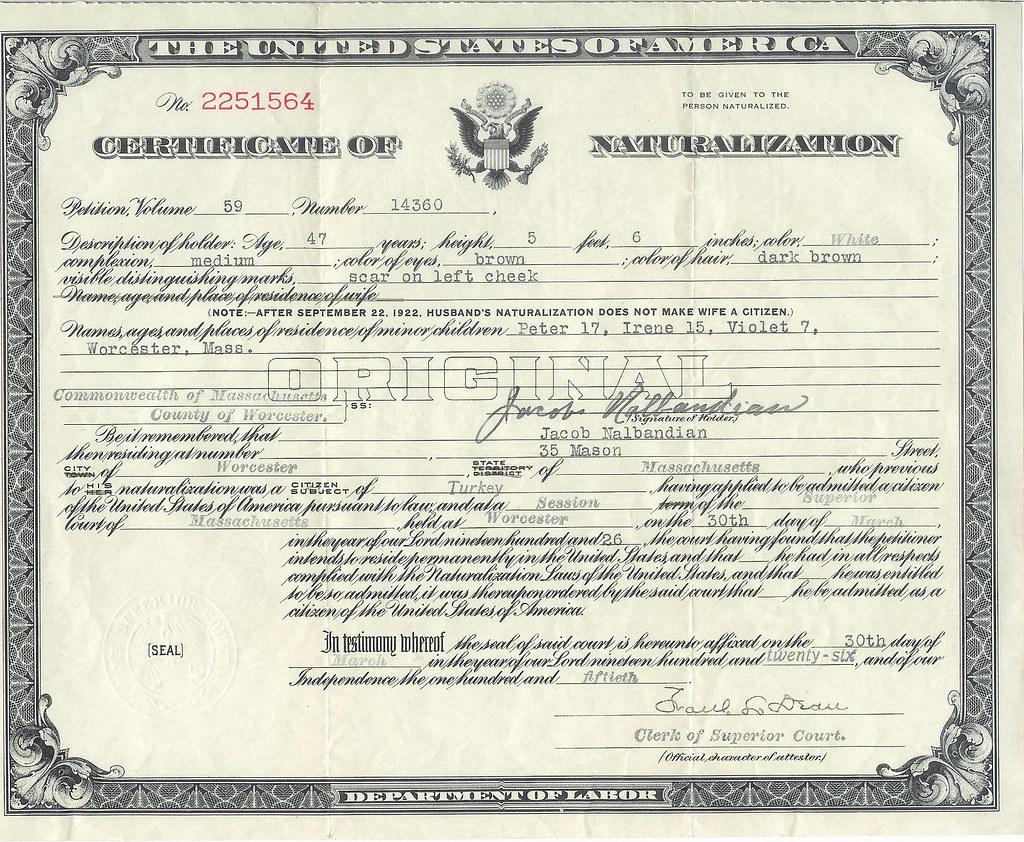 certificate naturalization flickr