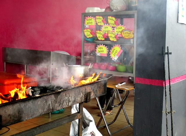 Noor Satay Islamic Cafe, satay stall