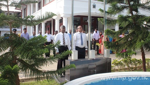 Governor's Secretariat staff takes oaths on first working day of the year