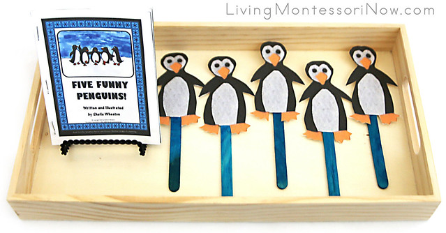 Five Penguins Tray