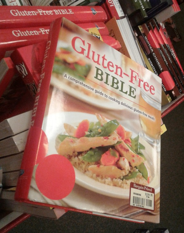 Gluten-Free Bible at B&N Springfield 20161226_145632
