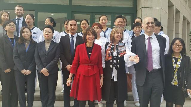 Déplacement en Chine : visite de l'EHPAD de Xi'an