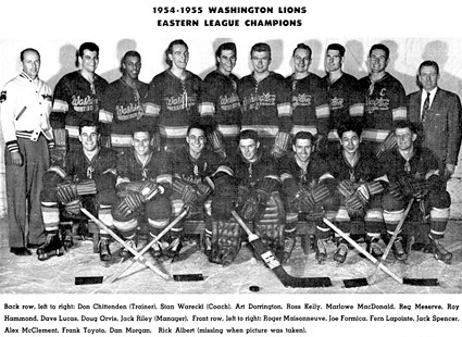 WashingtonLionsEHLChamps1954-55