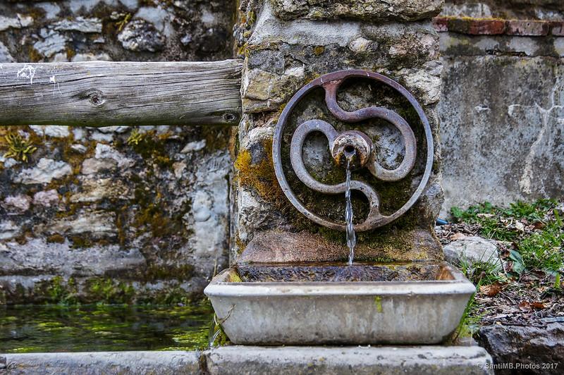 Detalle de la Font de les Gavatxes