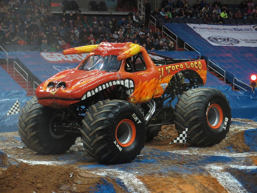 el toro loco driven by armando castro monster jam triple