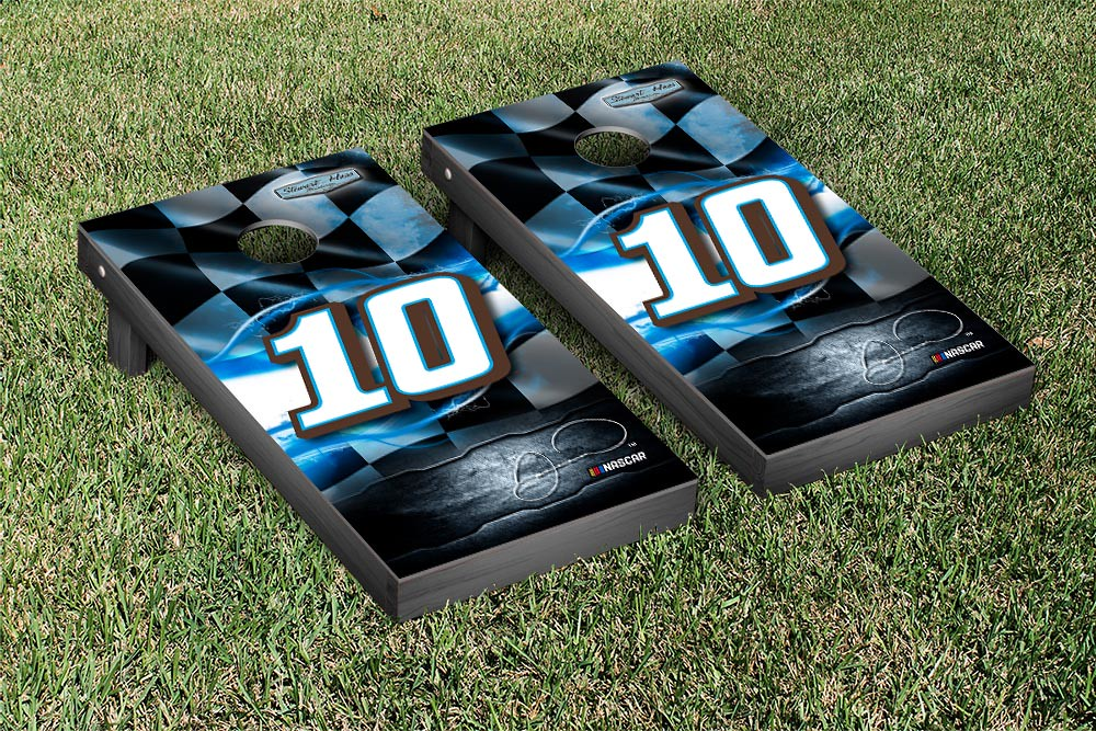 DANICA PATRICK #10 CORNHOLE GAME SET NIGHTLIGHTS VERSION