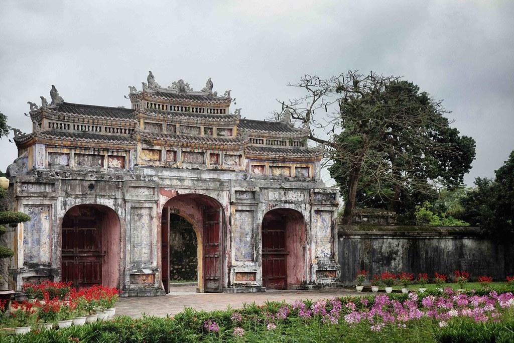 Hue - Tombeau Minh Mang 7