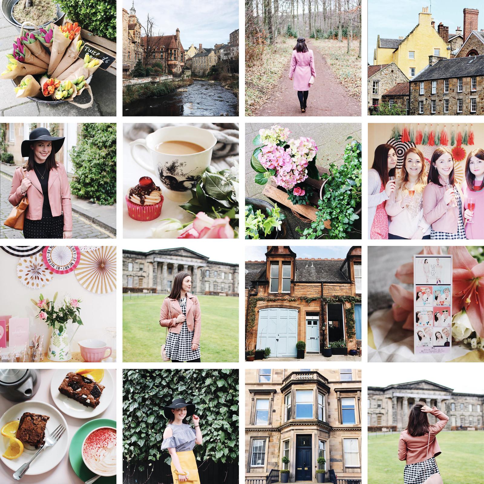 Feb 2017 Instagram Stories The Little Things UK Edinburgh lifestyle blogger