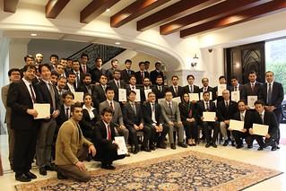 2017.03.06 PEACE & MEXT Scholars' Graduation Reception