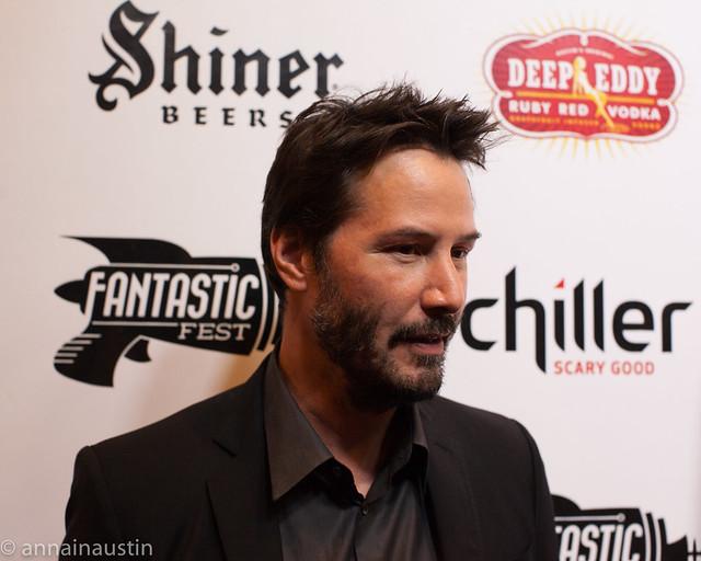 Keanu Reeves, John Wick Red Carpet, Fantastic Fest 2014 Austin, Texas 2014-19.jpg