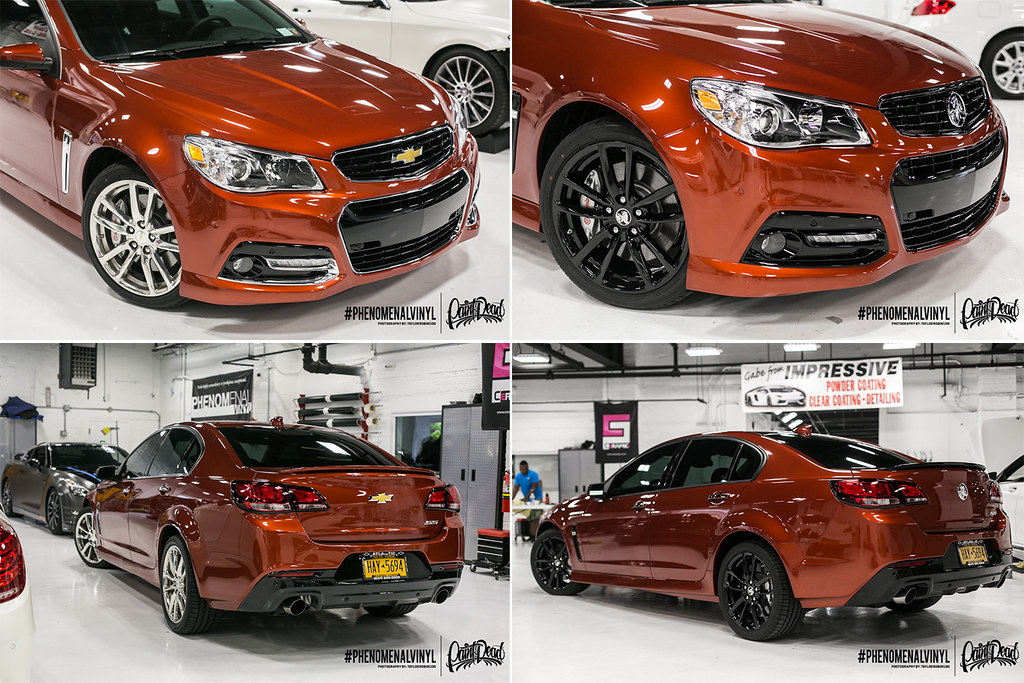Chevy Ss Blackout And Holden Emblem Conversion Chevy Ss