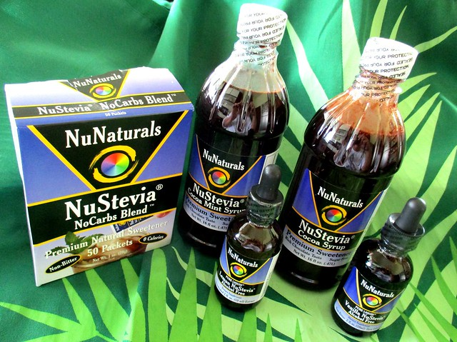 NuNaturals product samples