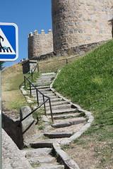 Escalera en Ávila
