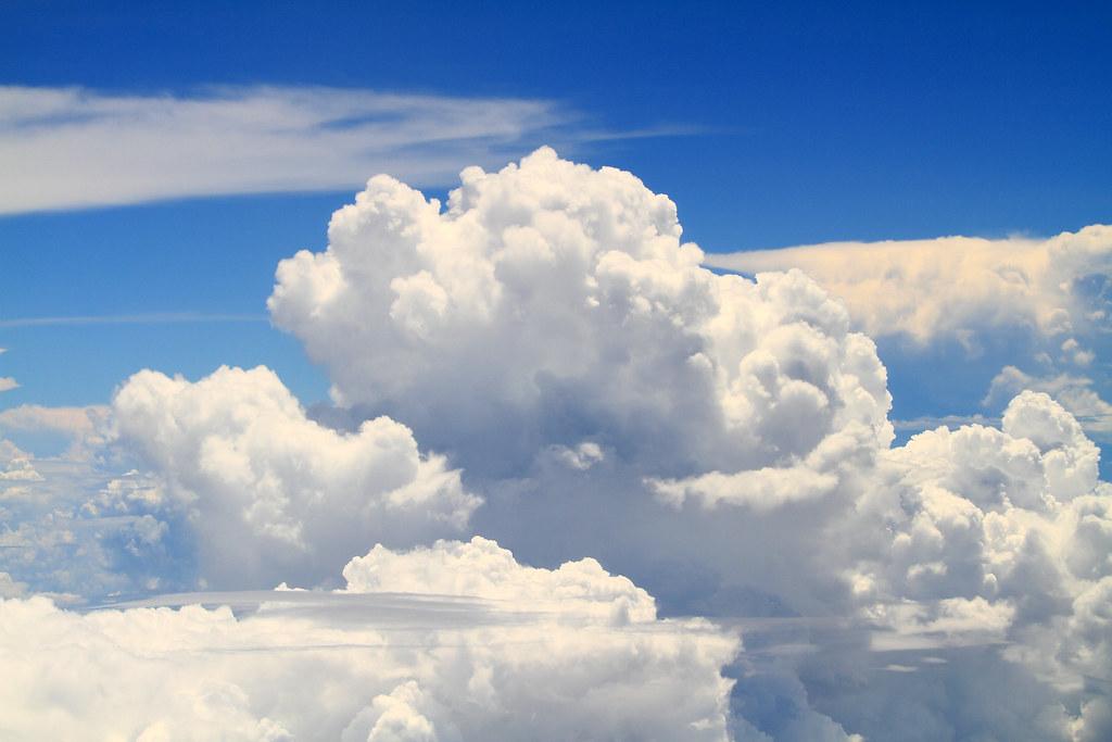 Cumulonimbus from airplane | Cumulonimbus | skyseeker | Flickr