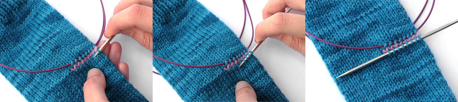 Picking Up Stitches In Knitting Mitten Thumb : Mitt-O-Matic Fingerless Mittens Generator free knitting pattern on Its a...