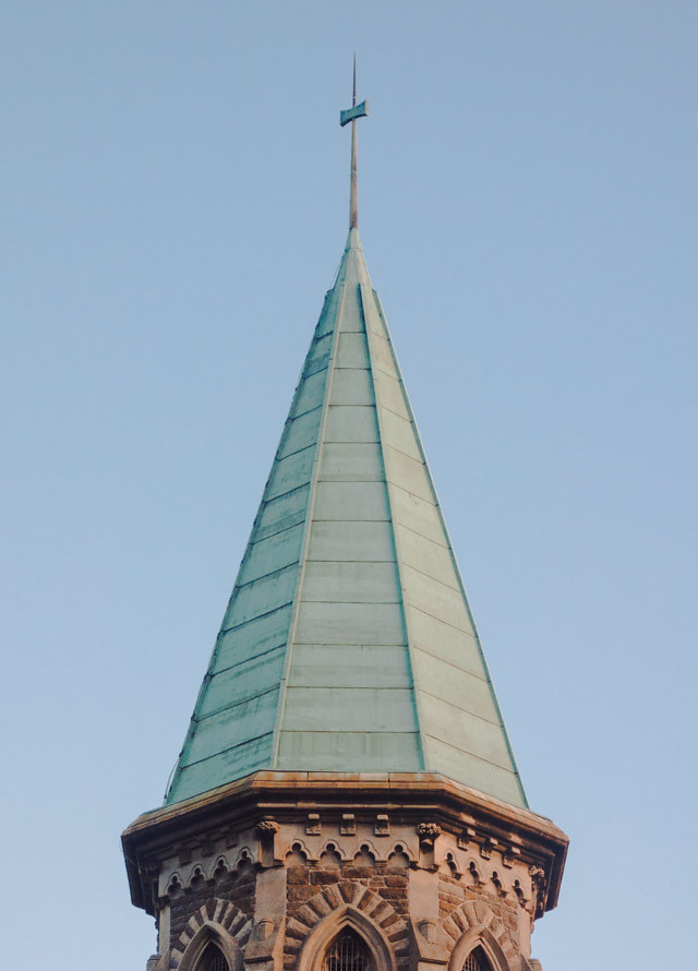 cathays cemetery church steeple