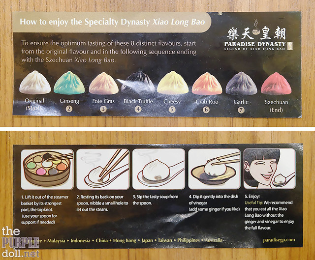 How to enjoy xiaolongbao at Paradise Dynasty