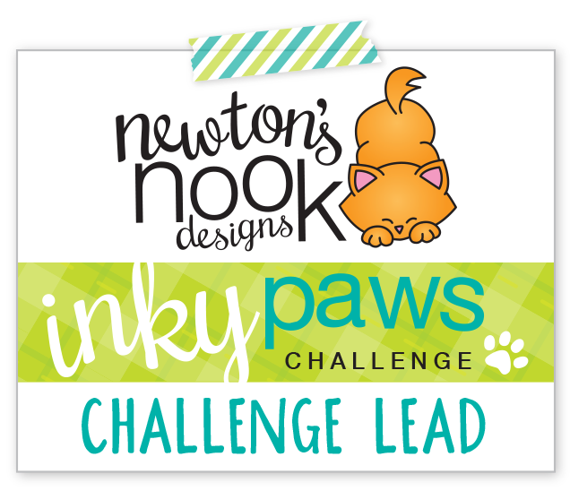 "Newton's Nook Designs - Inky Paws Challenge"" height="