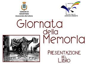 Noicattaro. Giornata della Memoria front