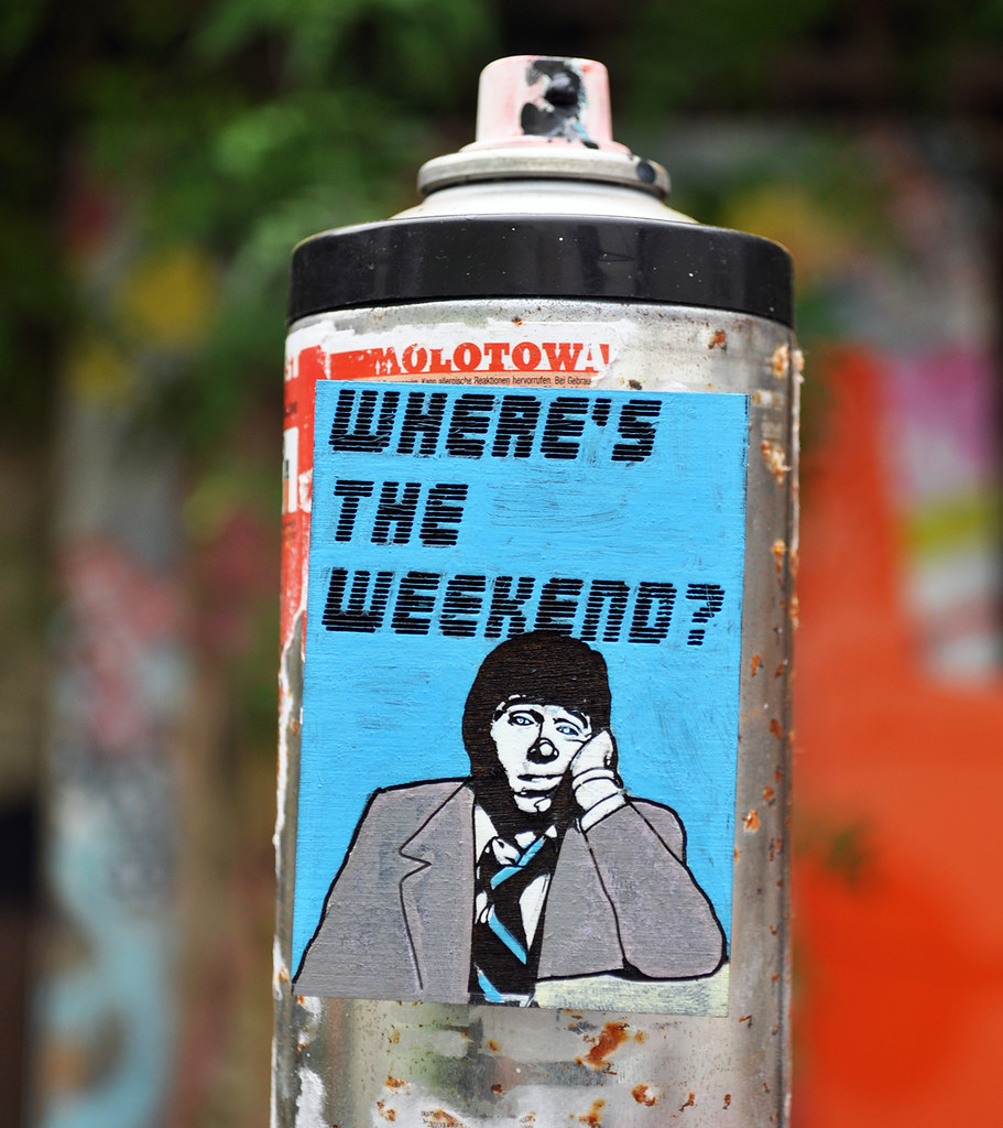 Where's the weekend? (mini magnet edition)