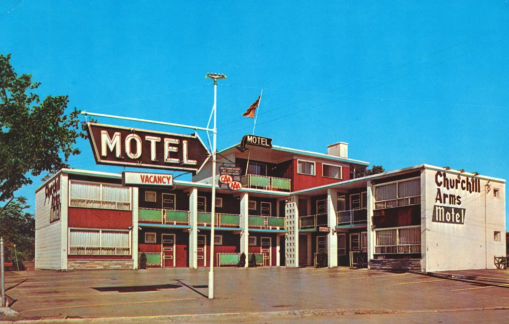 Churchill Arms Motel - Ottawa, Ontario