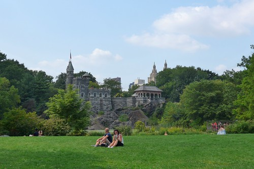 Belvedere Castle - P1410595 | - Perched high atop Vista ...