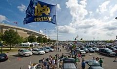 Norte Dame tailgate 2015 | by 5tar Limos Party Bus Rentals Chicago