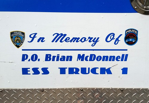 In memory of P.O. Brian McDonnell | by Hobo Matt