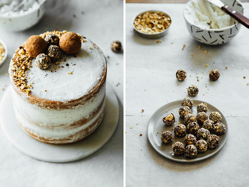 Hazelnut crunch cake | by Ashlae | oh, ladycakes