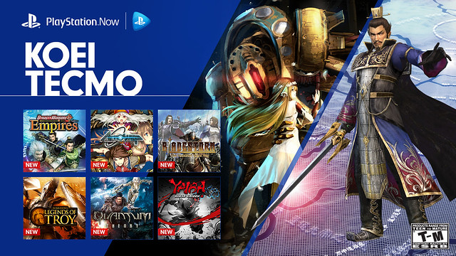PlayStation Now: Koei Tecmo