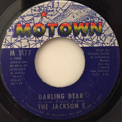 THE JACKSON 5:MAMA'S PEARL(LABEL SIDE-B)