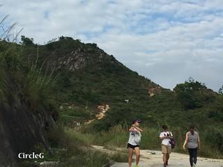 CIRCLEG 遊記 香港 屯門 菠蘿山 良景邨 日落  (22)