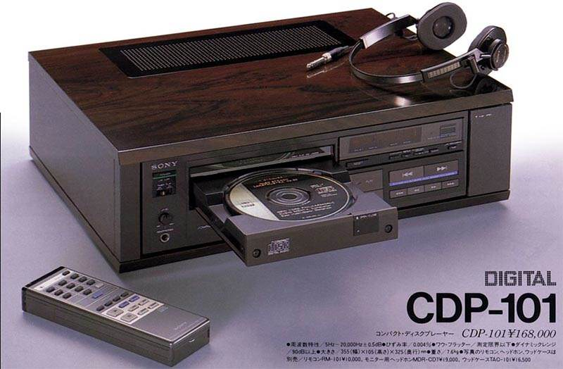 #80sInnovations Sony CDP-101 Compact Disc Player