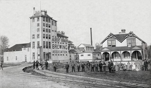 Dorpat Albert Braun Brewery THEN