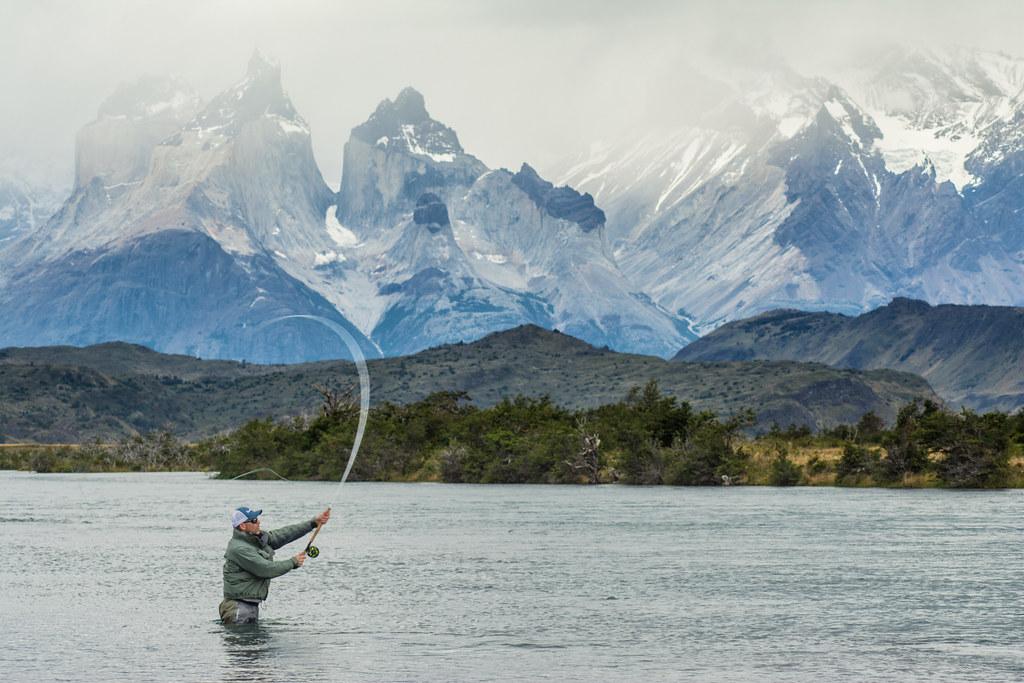 Fishing in the Serrano River