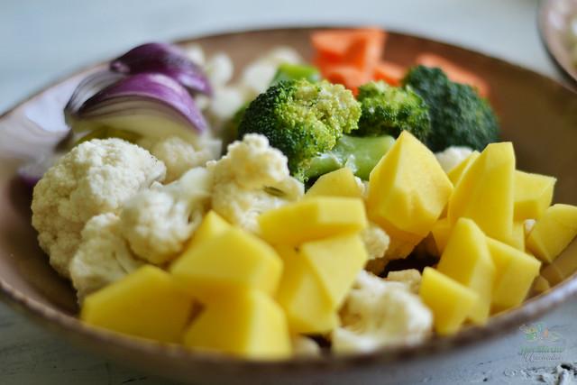 supa crema de conopida cu broccoli in pungulita